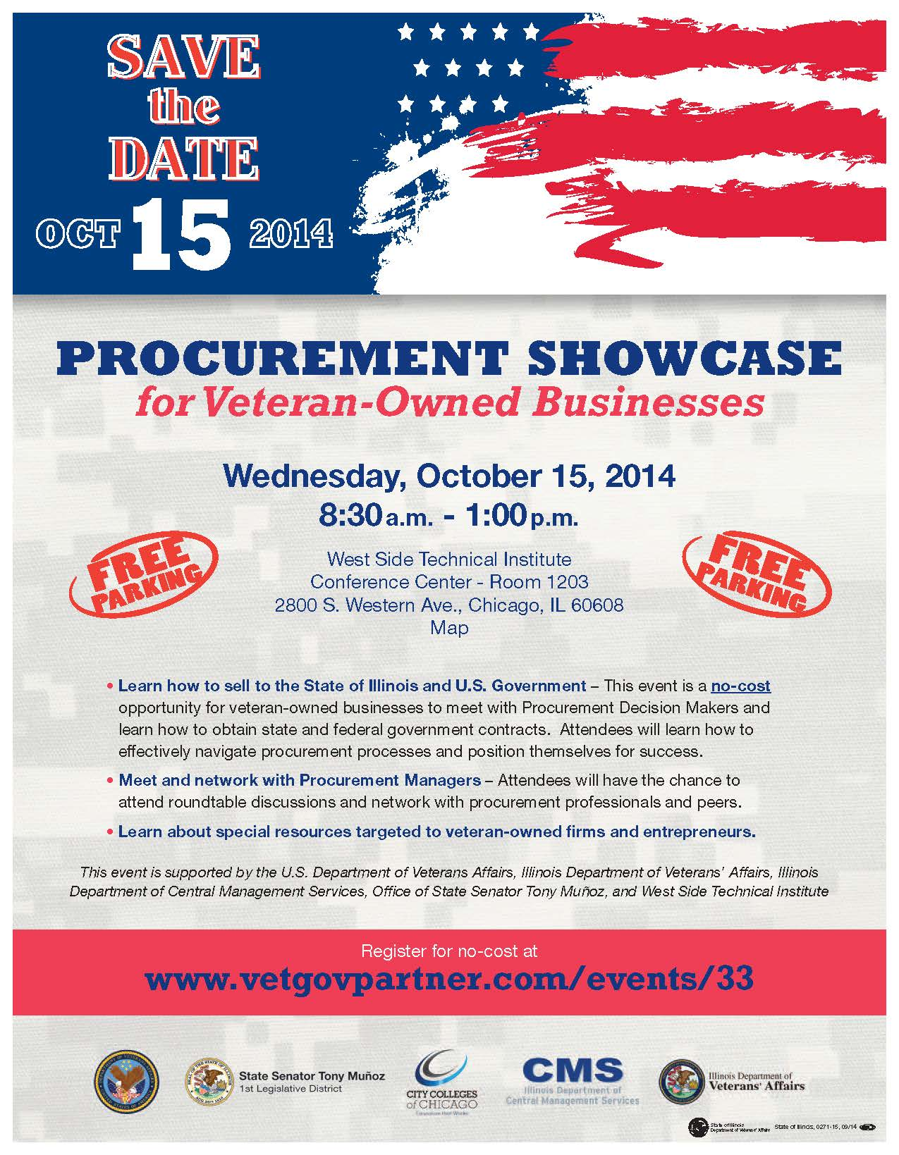 Procurement Showcase for Veteran-Owned Busineses - Oct  15 in Chicago